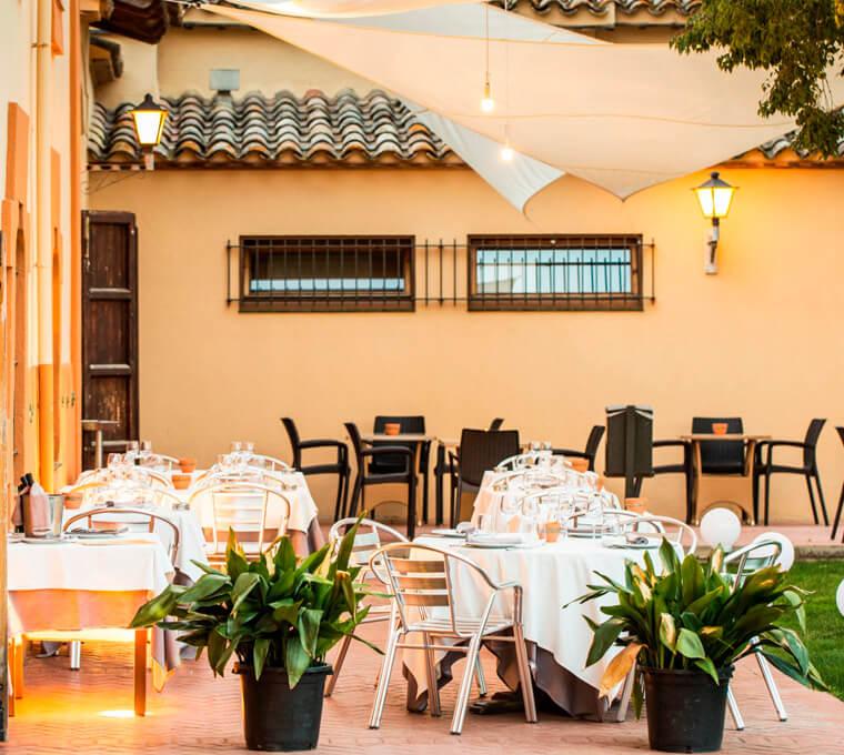 Restaurant hotel mas ros